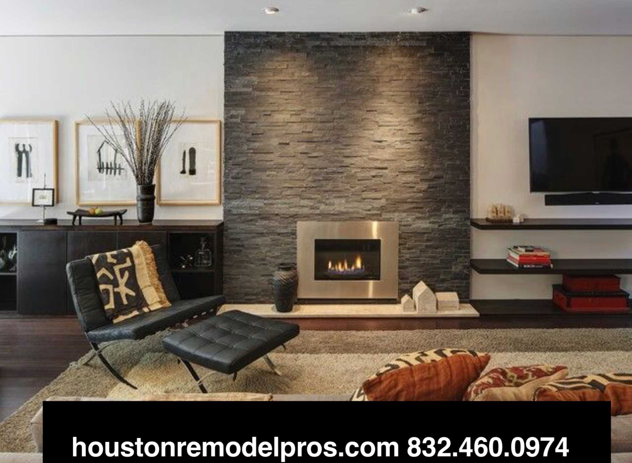 living room remodeling by houston remodel pros