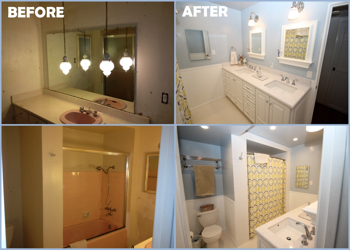 bathroom remodel houston before and after bathroom