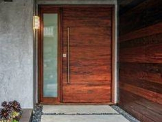 front door installation by houston remodel pros
