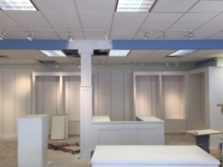 retail space renovation by commercial remodeling contractors