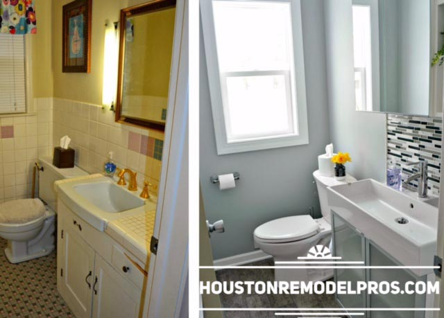 bathroom renovation in Houston