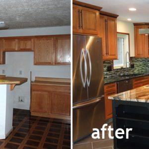 kitchen remodel in traditional style by Houston Remodel Pros